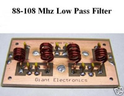 Low Pass Filter 300 Watt