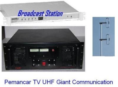 Paket Pemancar TV VHF 25 Watt