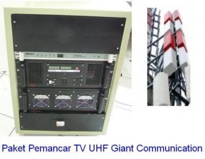 Paket Pemancar TV UHF 1000 Watt