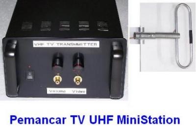 Paket Pemancar TV UHF 10 Watt