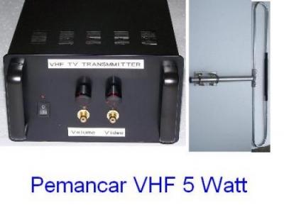 Paket Pemancar TV VHF 5 Watt