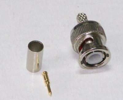 BNC Male RG-58 Amphenol